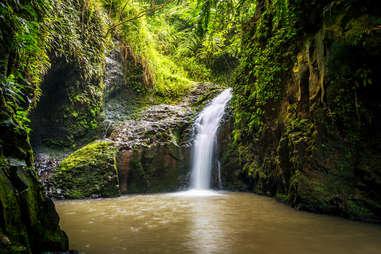 Maunawili water fall