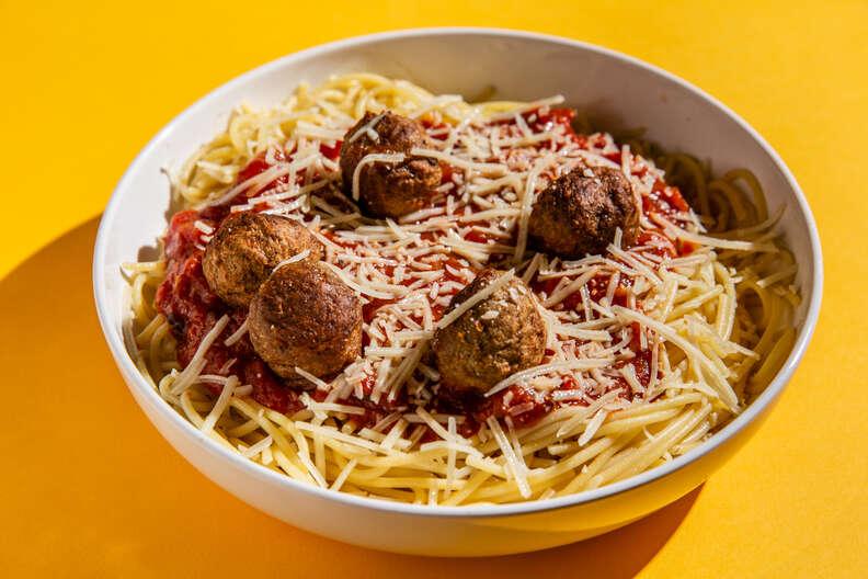 noodles and company spaghetti