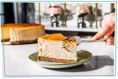 plain cheesecake from Estuary, Brooklyn