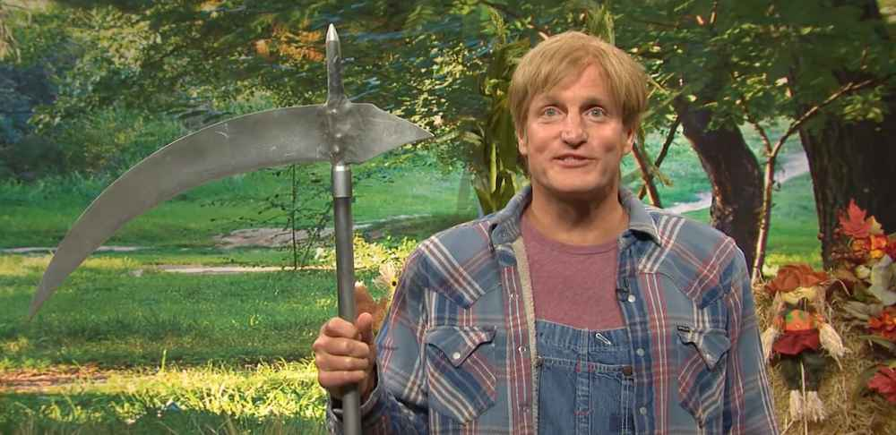 Woody Harrelson and 'SNL' Debunk the Joys of Apple-Picking