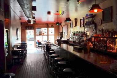 Boat bar in Brooklyn