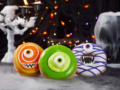 krispy kreme monster donuts halloween