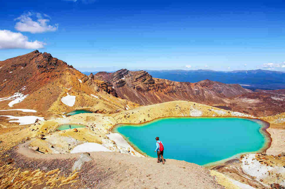 Emerald Lakes, Tongariro National Park, New Zealand
