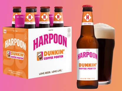 dunkin harpoon beer
