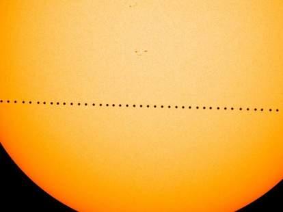 mercury transit sun