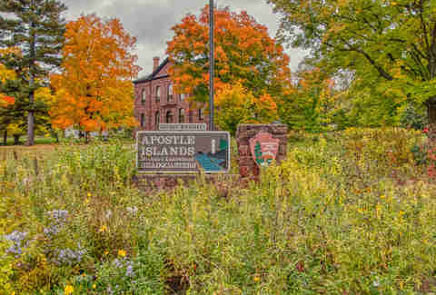 Apostle Island Visitor Center in Bayfield, WI