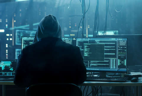 Dangerous Hooded Hacker Breaks into Government Data Servers