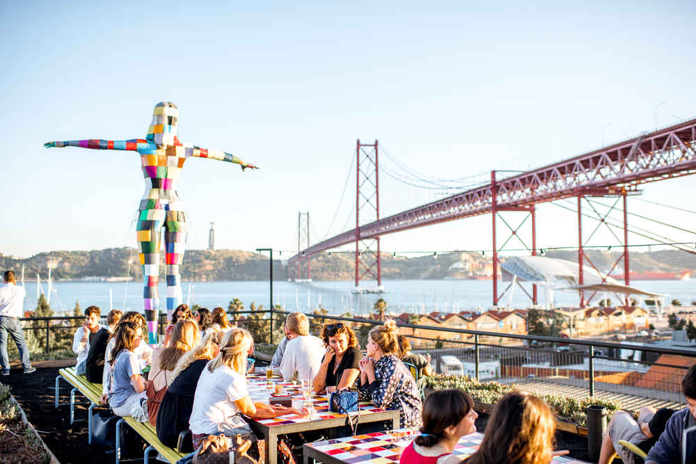 Go Off the Tourist Path For Good Food and Good Vibes in Lisbon