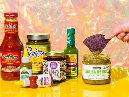 salsas frontero salsa store bought yellowbird verde picante tomatillo