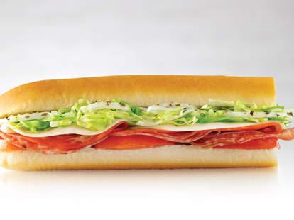 jimmy john's lilttle john sandwich mini