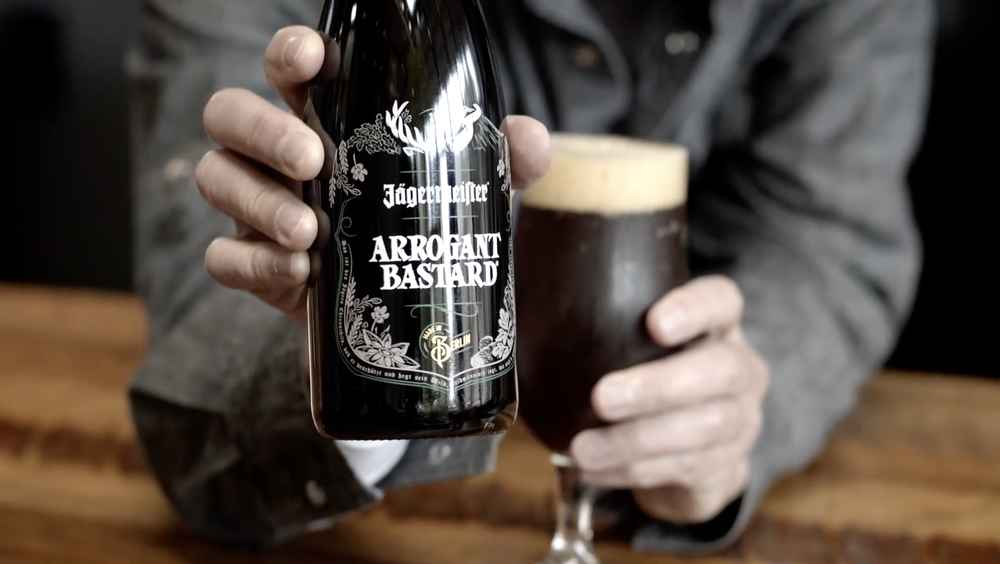 Jägermeister Has Collaborated With a Craft Brewery to Make an Arrogant Bastard Ale