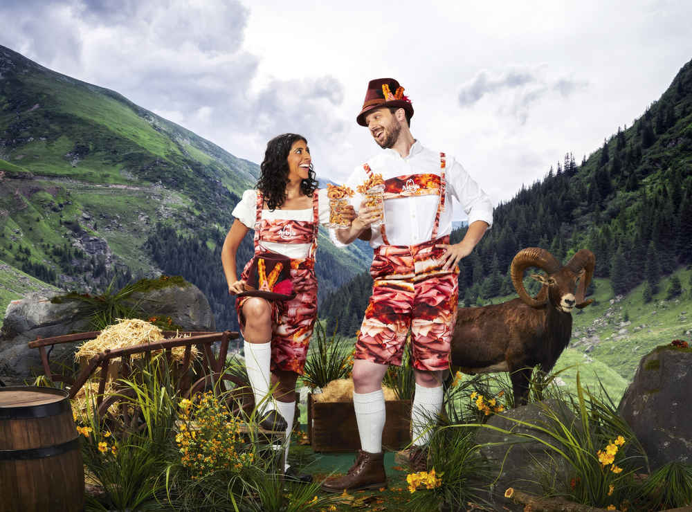 Arby's Just Unleashed a Truly Weird Set of Oktoberfest Clothes Called Meatoberfest