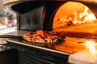 via sophia pizza in DC