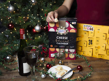 cheese advent calendar so wrong it's nom cheddar