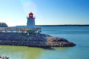 Lighthouse on the Ohio River in Paducah, Kentucky