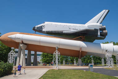 Huntsville, Alabama's US Space Rocket Center