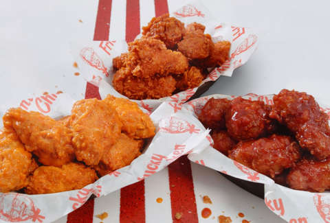 kfc kentucky fried chicken wings