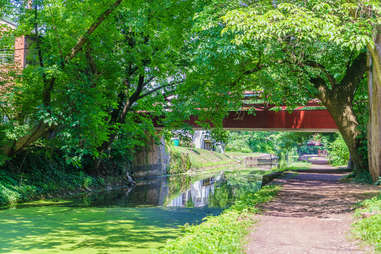 Delaware Canal Towpath in New Hope, PA