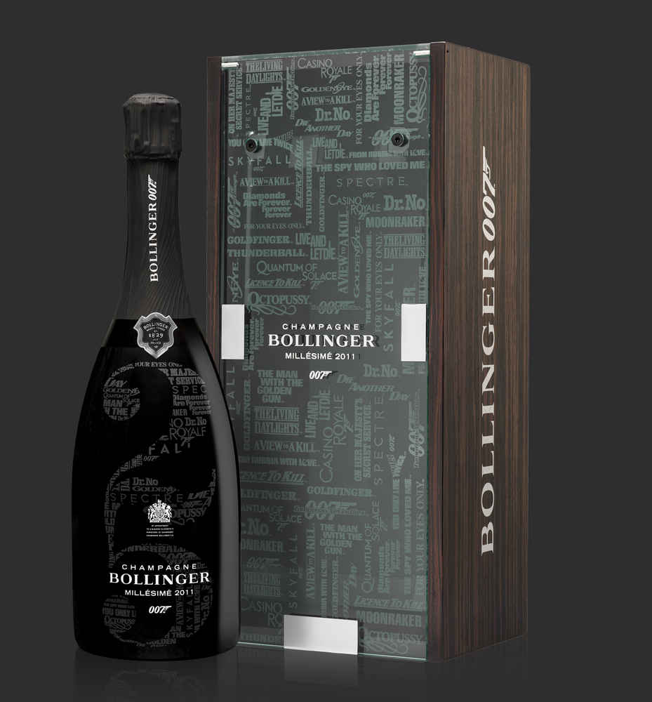 You Can Drink Like 007 With This New James Bond-Inspired Champagne