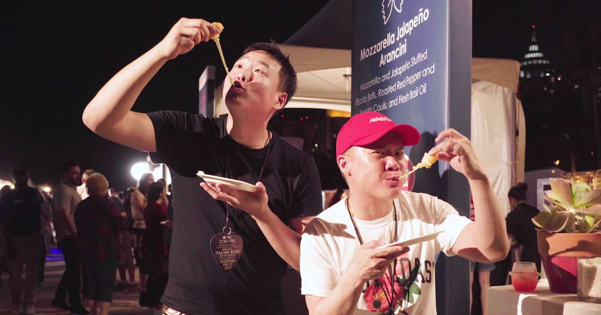 Timothy DeLaGhetto & David So Eat Their Way Through the 2019 South Beach Wine & Food Festival - Videos - Thrillist