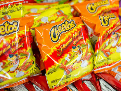hot cheetos tsa spicy snacks
