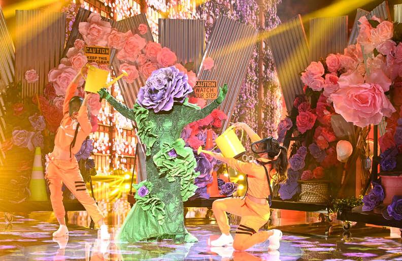 masked singer flower