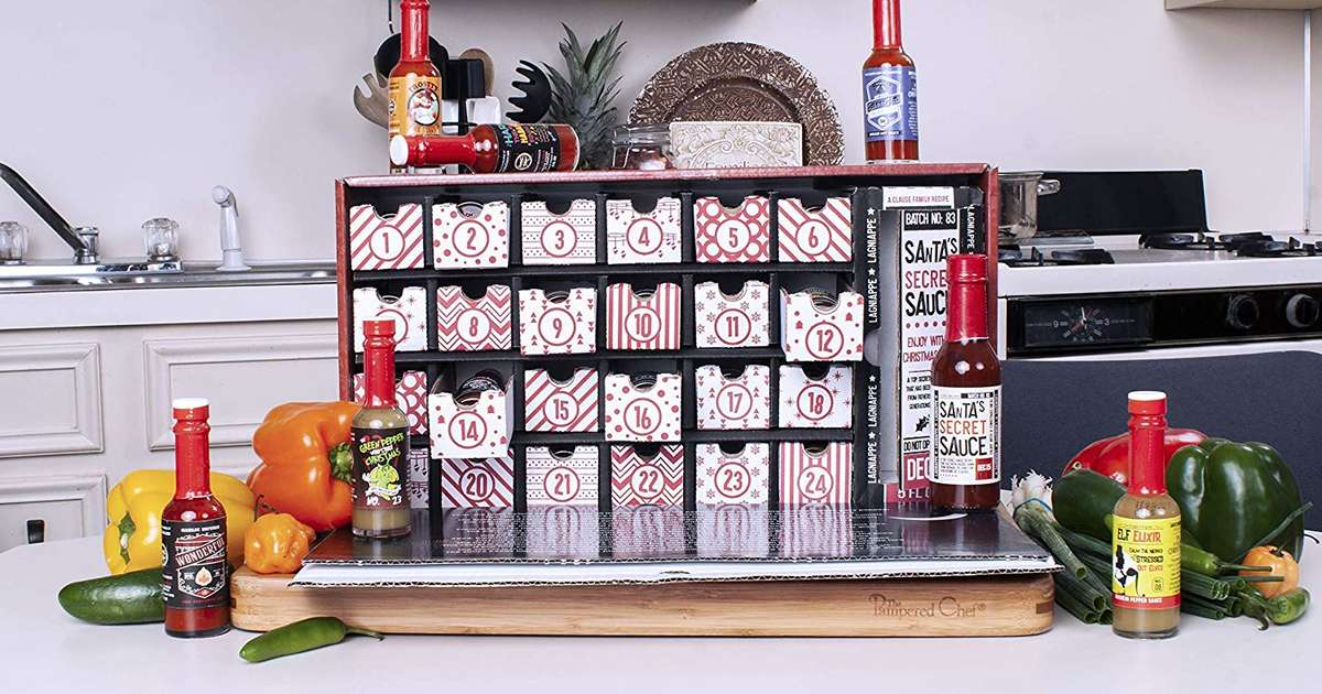amazon releases 39 25 days of spice 39 hot sauce advent. Black Bedroom Furniture Sets. Home Design Ideas