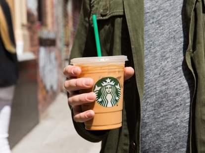 Starbucks newspapers