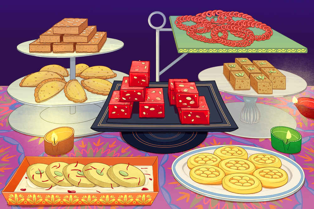 Indian Sweets for a Most Brilliant Diwali Holiday Season