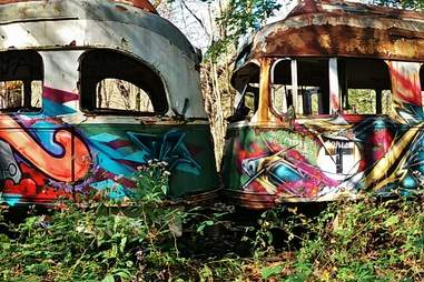 Winber Trolley Graveyard