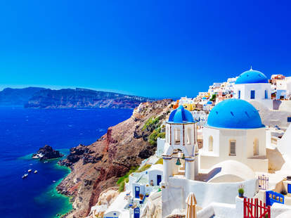 greece greek islands santorini