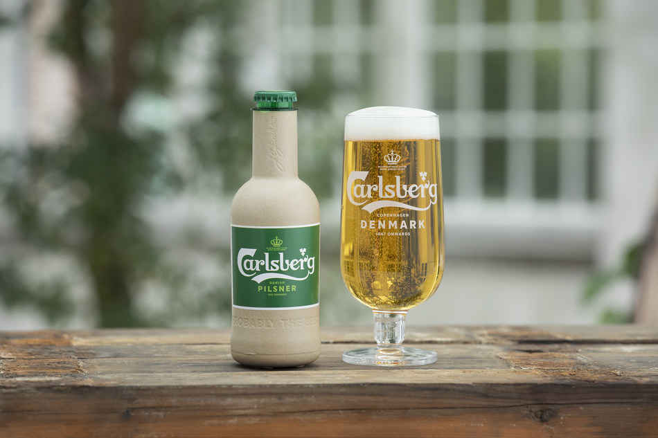 Carlsberg Just Created The First-Ever Paper Bottle, So You Can Drink Beer Without Wrecking Our Planet