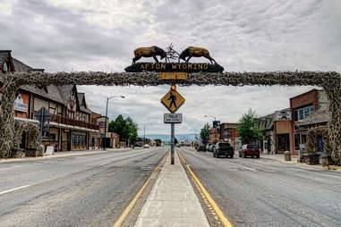 The World's Largest Elk Horn Arch