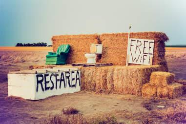 Nebraska Rest Area