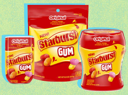starbursts starburst gum