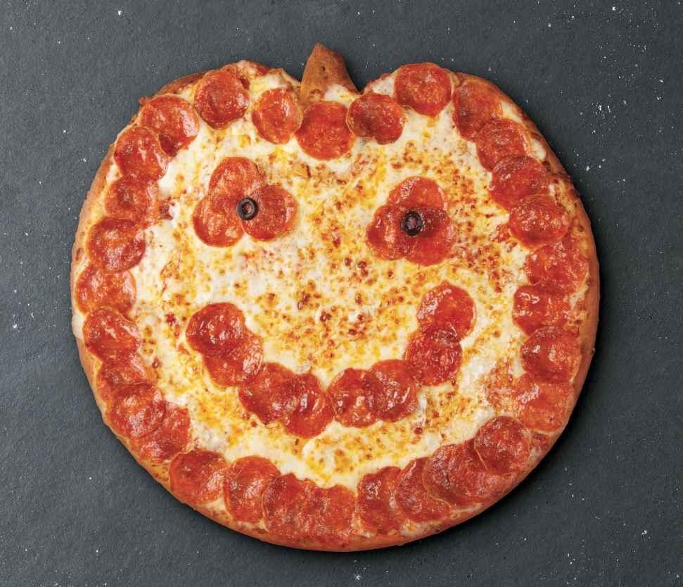 Jack-o'-Lantern Pizzas Are Back at Papa John's