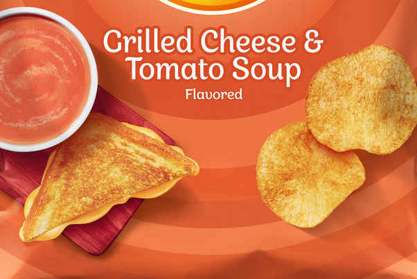 Lay's Has New Grilled Cheese and Tomato Soup-Flavored Chips Perfect for Fall