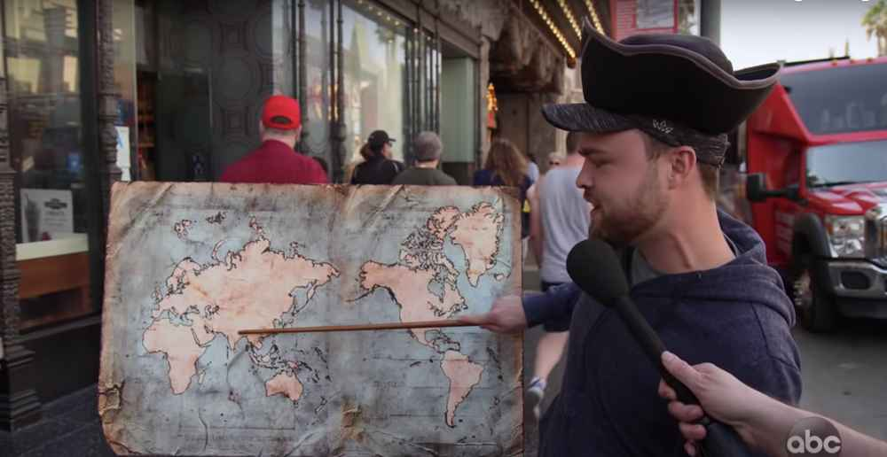 Kimmel Asked People to Locate Countries on a Map and Oh, It Went Poorly