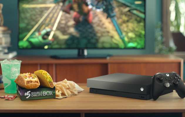 You Can Win a Special Taco Bell Xbox One X Bundle Just by Eating Chalupas