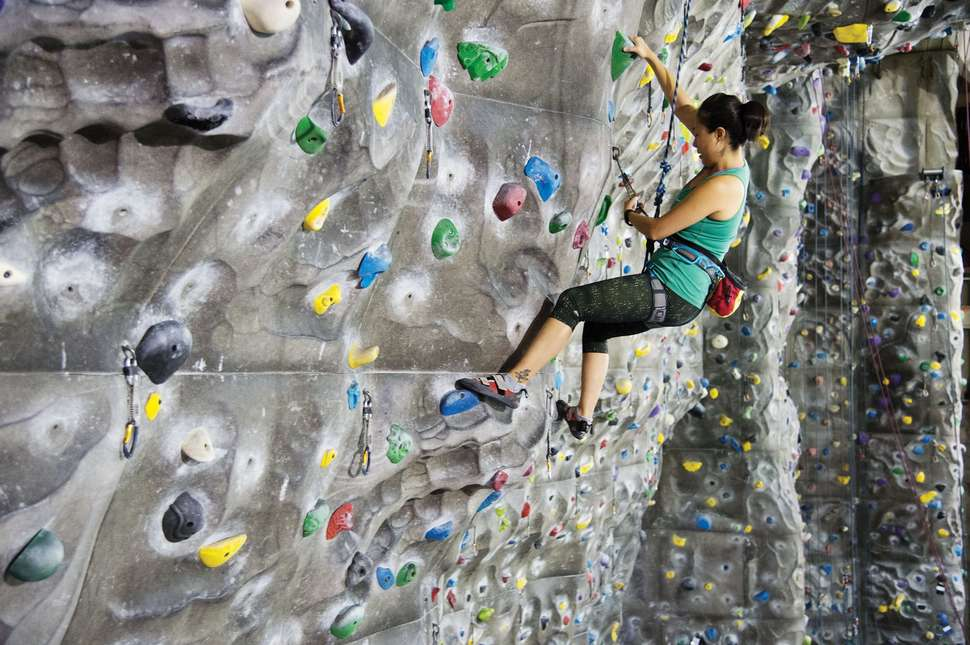 rock climbing at chelsea piers