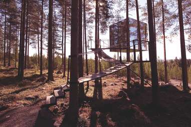 vacation in Swedish Lapland