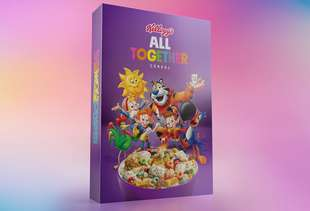 Kellogg's New 'All Together' Box Comes With 6 Cereals to Promote Inclusion