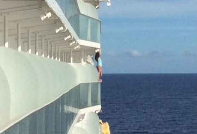 Woman Banned From Cruises for Life After Photoshoot on Ship's Railing