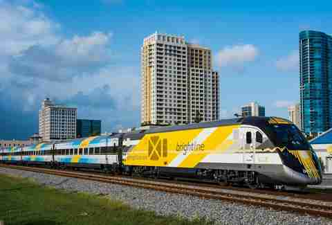 Brightline train