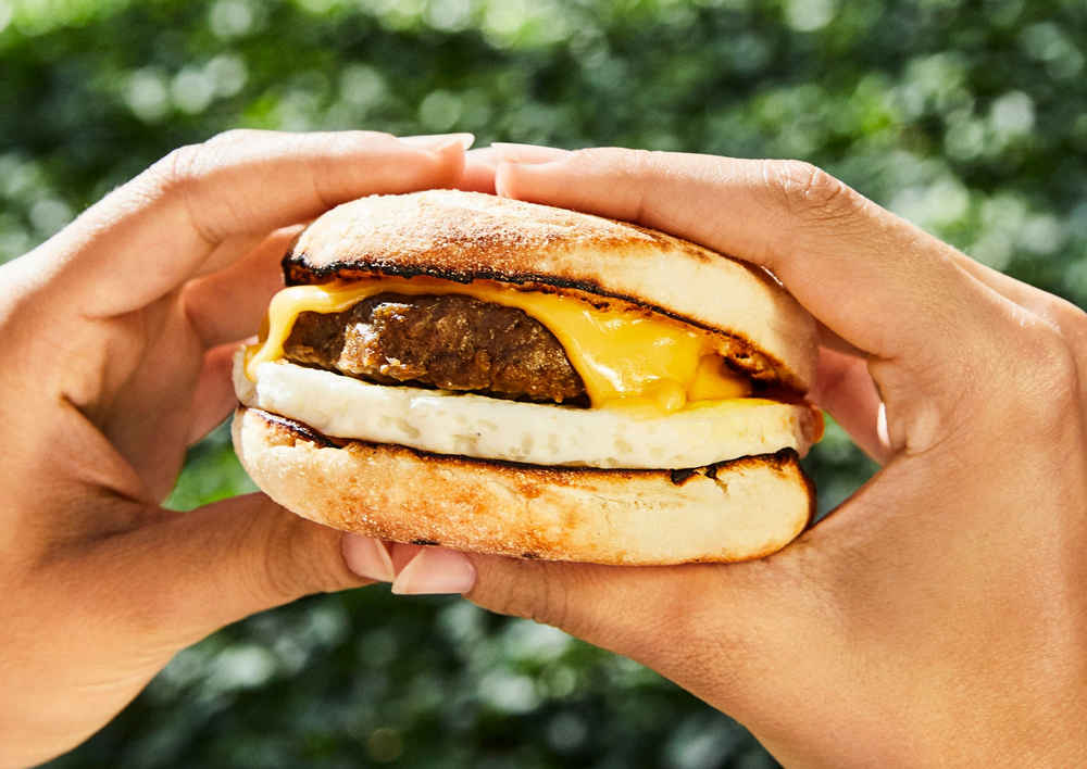 You Can Try Dunkin's New Meat-Less Beyond Sausage Breakfast Sandwich for Free