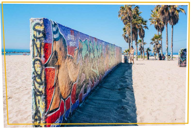 Venice Public Art Graffiti Walls