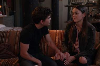 the fosters, callie, aaron, freeform