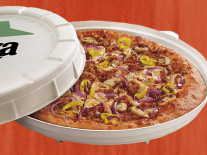 pizza hut garden pizza phoenix incogmeato italian sausage new box