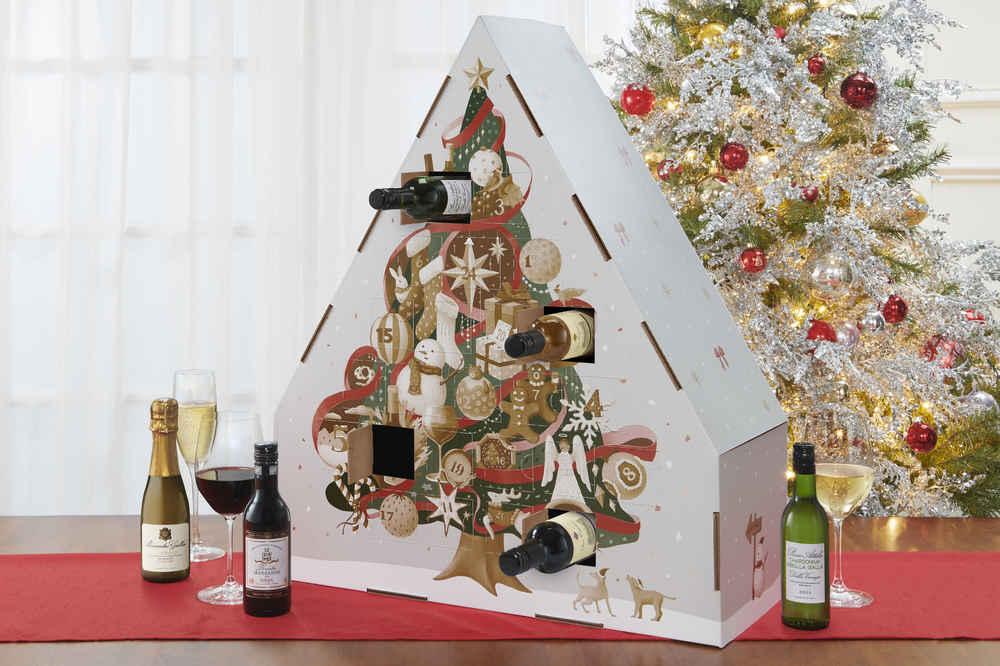 The Beloved Wine Advent Calendar Is Back & Stuffed with 24 Bottles