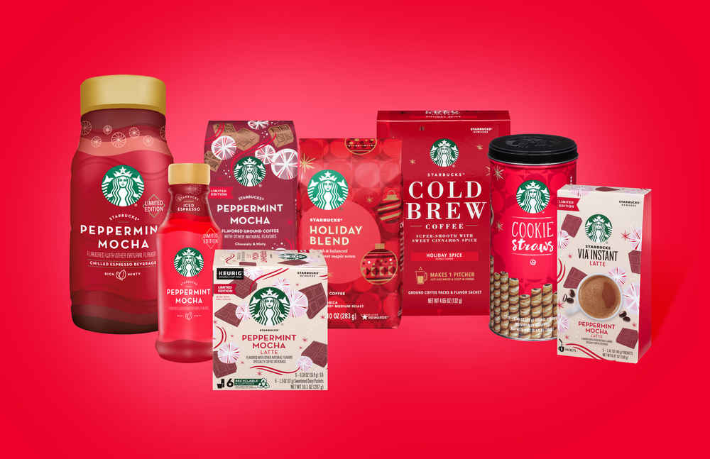 Starbucks' Latest Holiday Products Are Already Hitting Grocery Stores